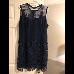 Blue dress size 16